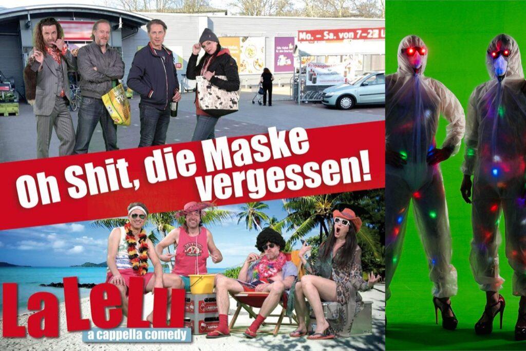 """LaLeLu a cappella comedy """"Oh Shit, die Maske vergessen"""""""