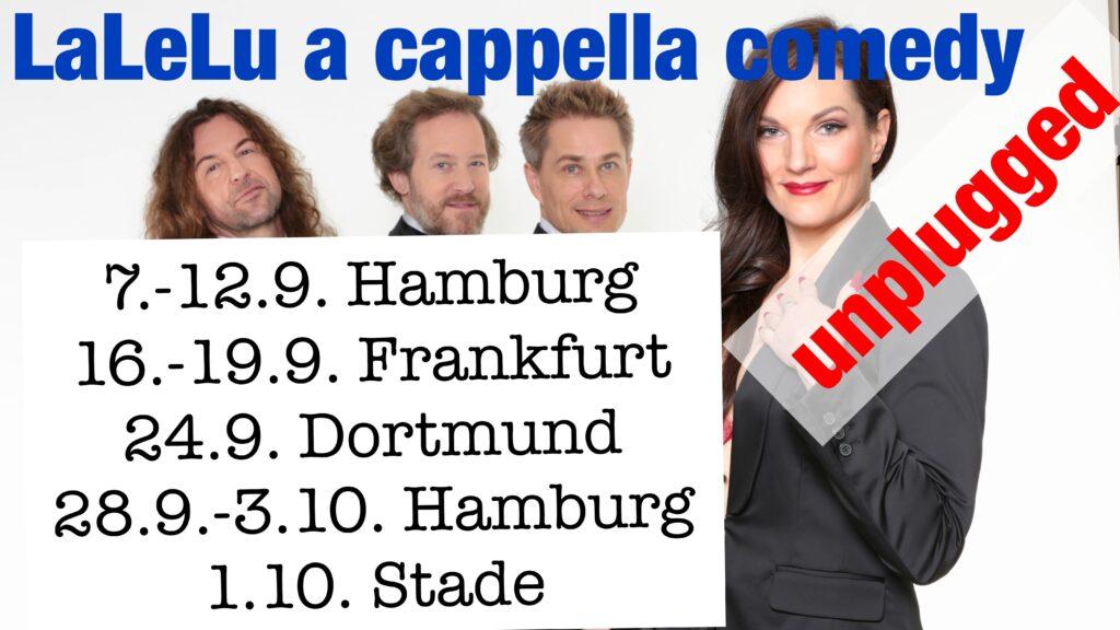 Der September mit LaLeLu a cappella comedy